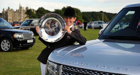Caroline Powell gagne Burghley avec Lenamore