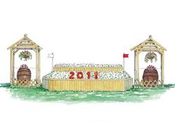 Badminton 2011 : découverte des obstacles