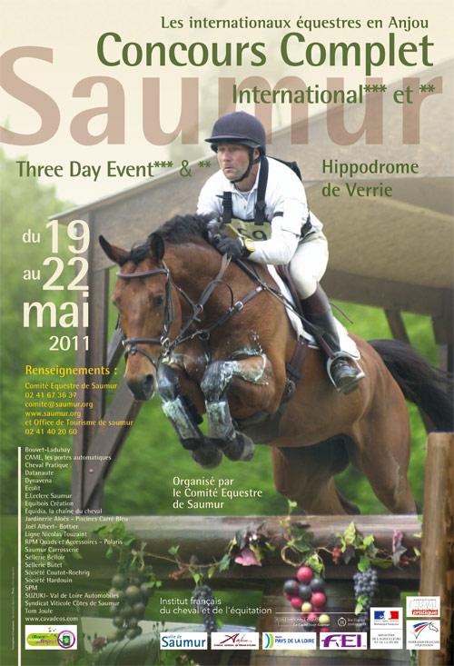 CCI*** de Saumur : des cavaliers venant de tous les continents!