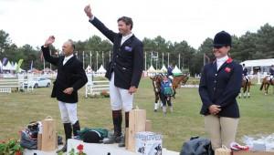 CCI*** de Saumur : Clayton Fredericks survole la compétition