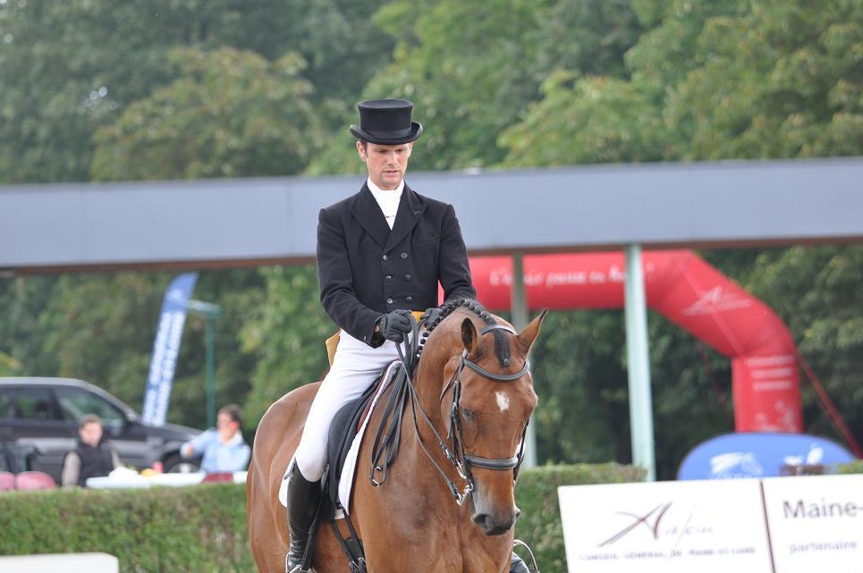 Jardy : Nicolas Touzaint gagne le dressage
