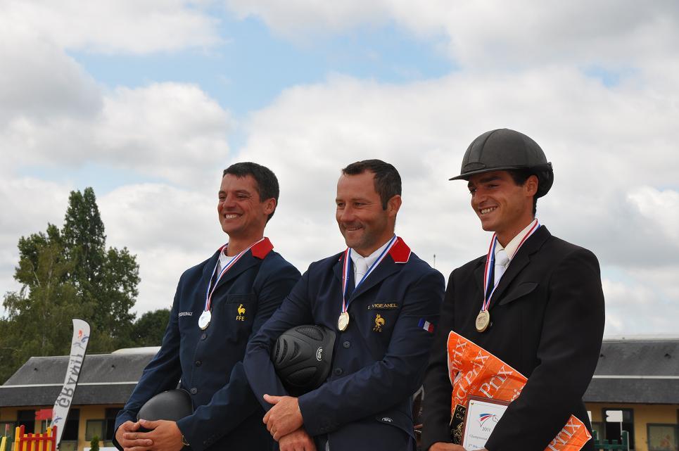 Saumur : Championnat des 7 ans