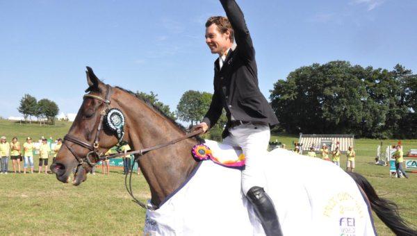 Christopher Burton irresistible à Gatcombe