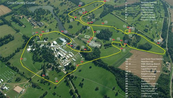Burghley: tout le cross en images