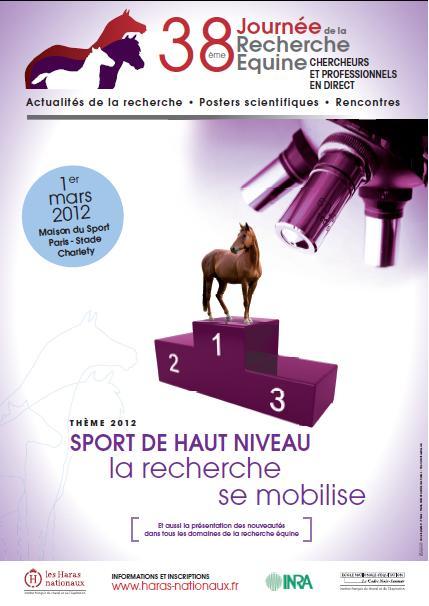 La recherche se mobilise pour l'équitation!