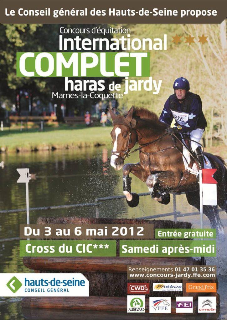 Prochain international français: le CIC*** de Jardy