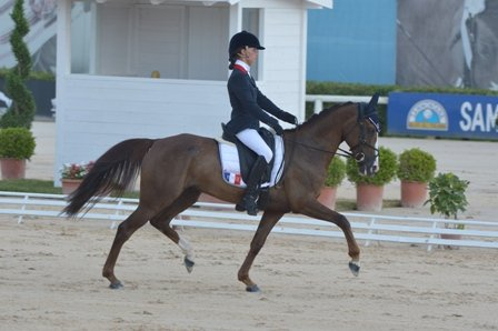 Europe Poney : Victor Levecque gagne le dressage