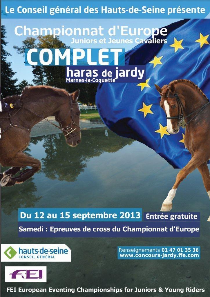 Jardy : Championnats d'Europe dans un mois !