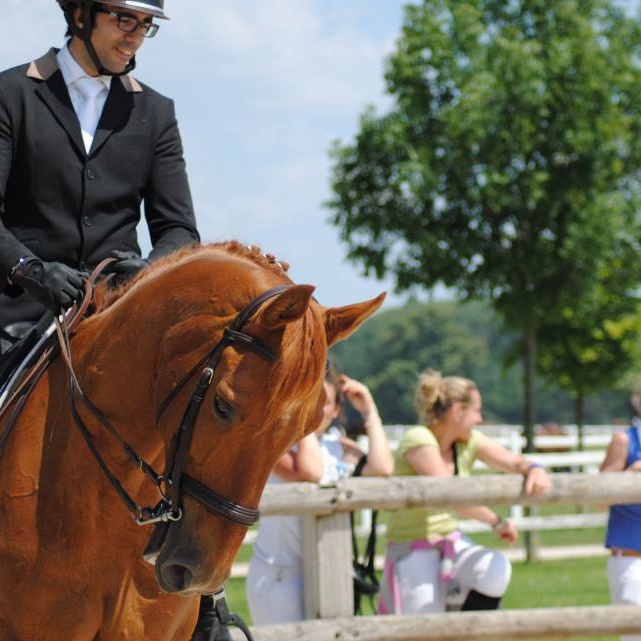 Anis Belhocine : meilleur cavalier Amateur