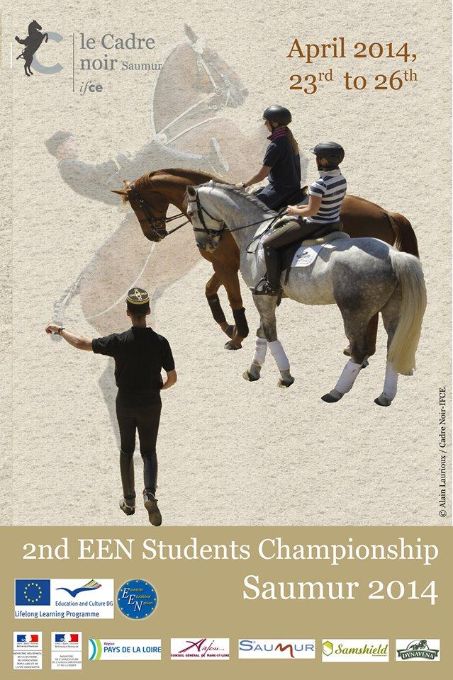 2ème Championnat universitaire Européeen à Saumur