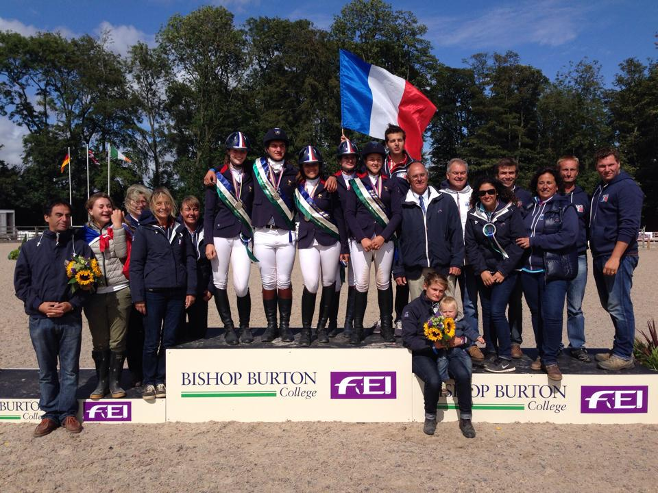 CH-EU Junior : la France en bronze !