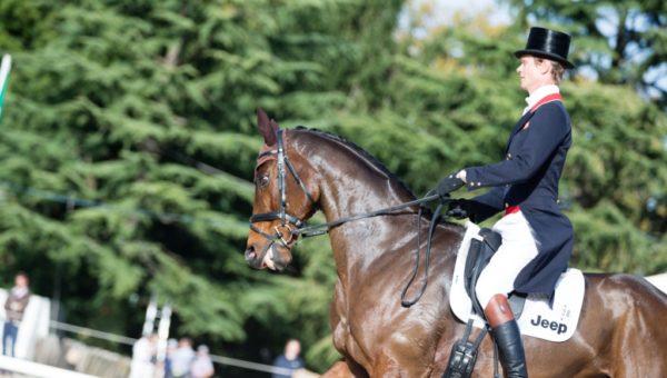 William Fox-Pitt enseigne à l'école nationale d'équitation