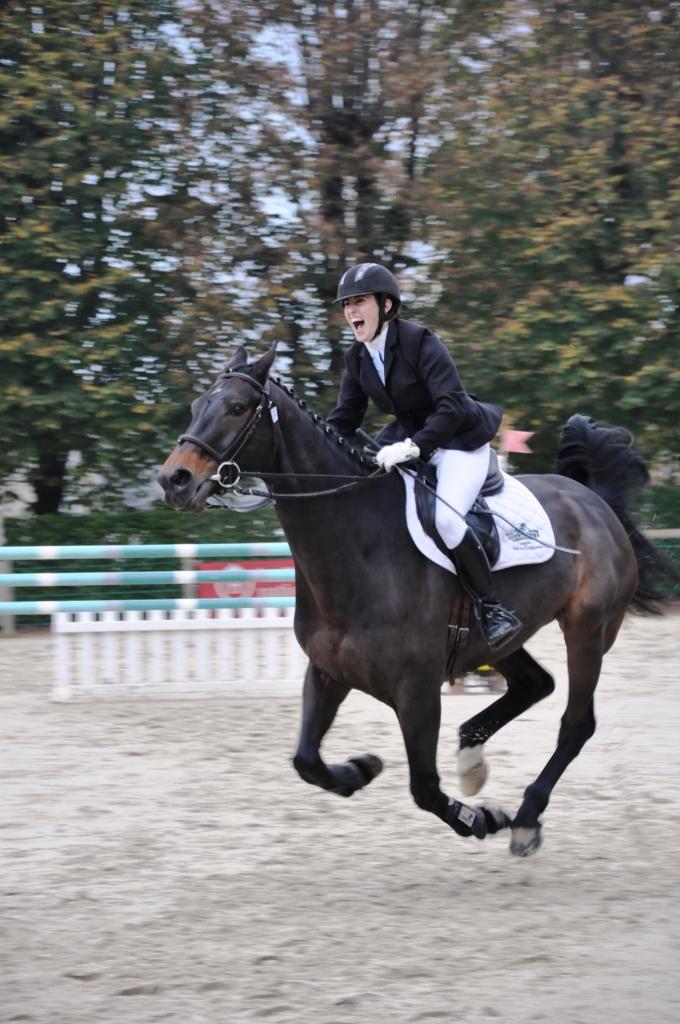 Lucie San Nicolas et Rubis des Islots, champions de France 2014