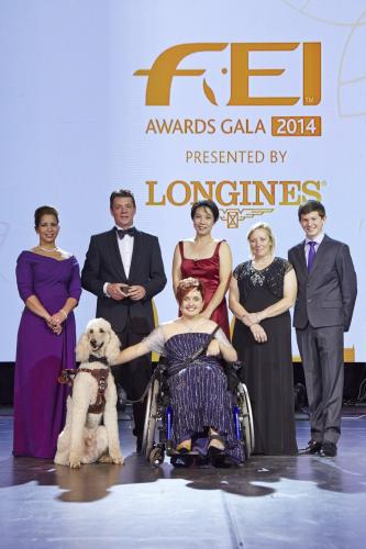 Les gagnants 2014 - photo FEI