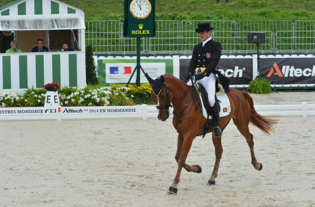 Francisco Seabra et Zarthago aux JEM 2014 - photo Pierre Barki