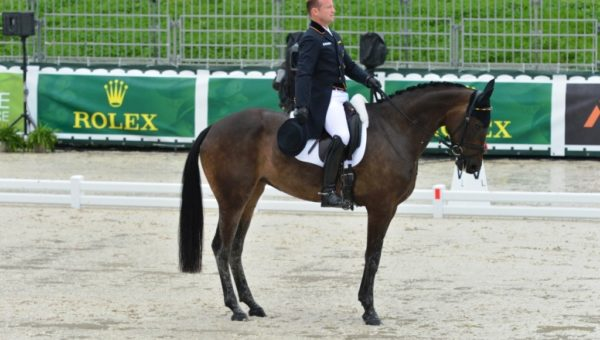 Lexington : Michael Jung en tête du dressage