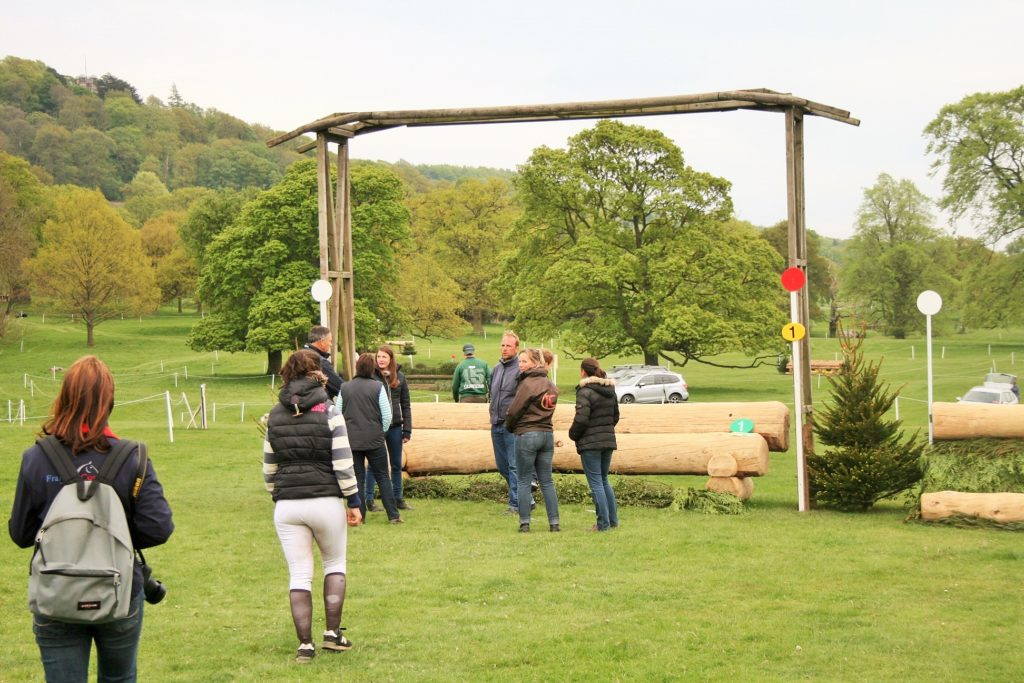 Chatsworth : reconnaissance du cross