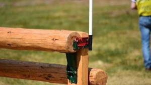 Un équipement pour tester un obstacle «frangible»