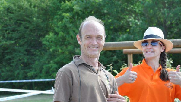 Guillaume Blanc : directeur sportif au Crazy Ride