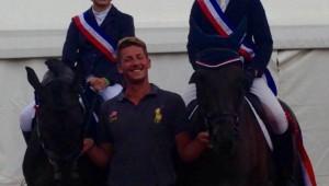 Thomas Caranzan : 2 médailles d'or à Jardy