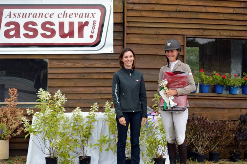 Sandillon : victoire pour Aurélie Riedweg