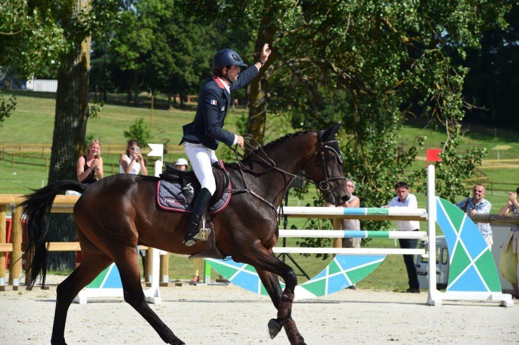 Les chevaux de Mathieu Lemoine