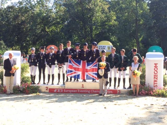 Europe Jeunes Cav : victoire Britannique