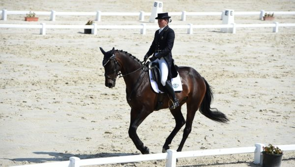 Lion d'Angers : Gwendolen Fer gagne le dressage
