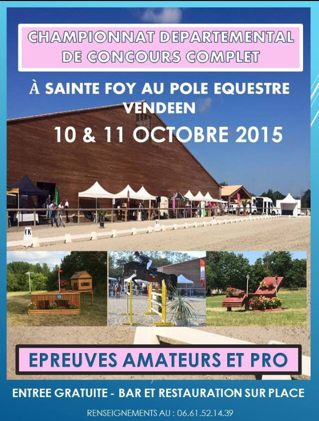 Affiche Sainte Foy