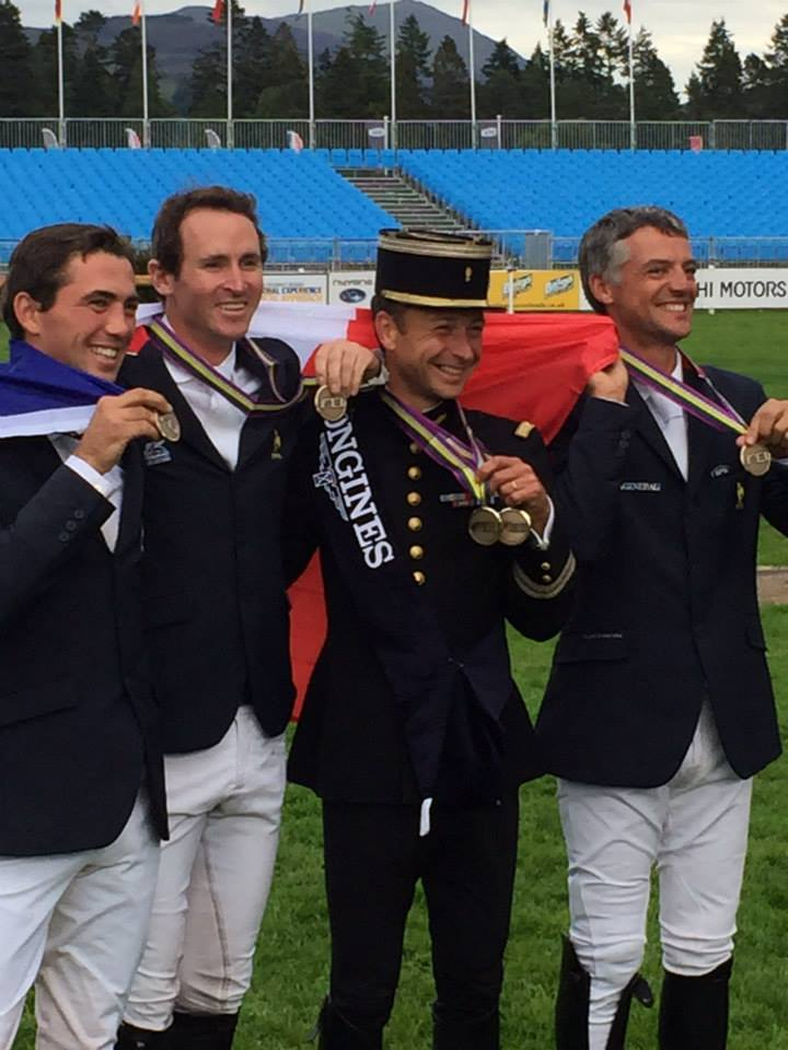 Equipe de France Blair médaille