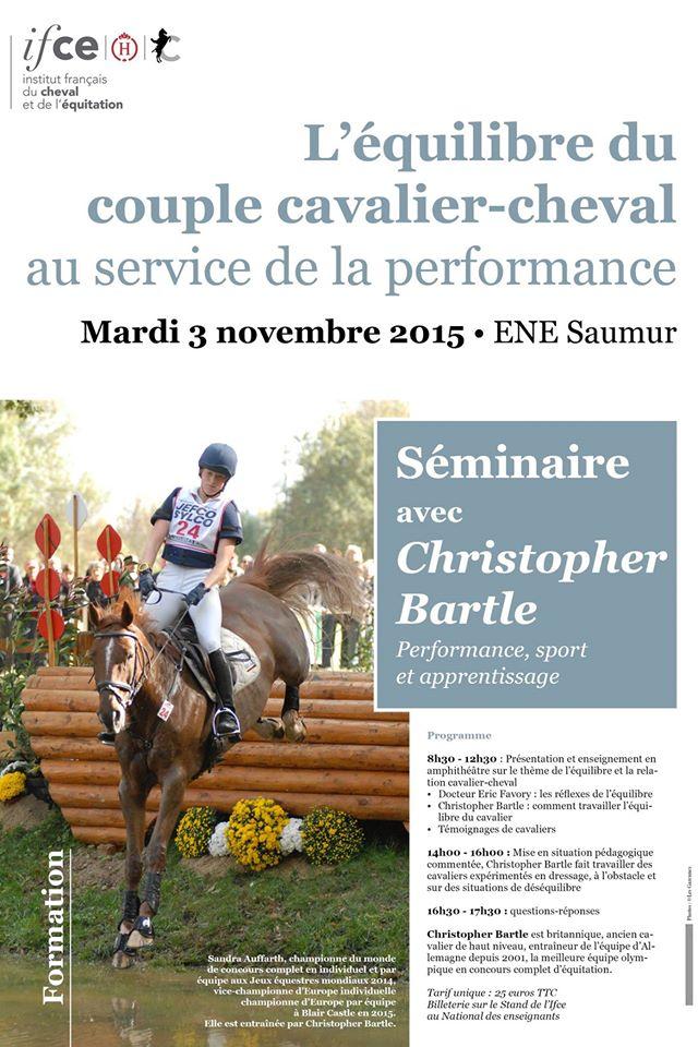 Christopher Bartle à l'ENE IFCE