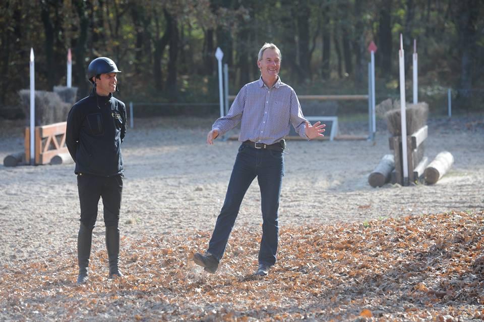 Journée sport avec Chris Bartle vue par Arnaud Boiteau