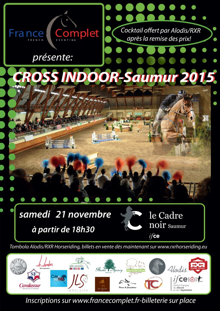 Cross indoor : les engagés !
