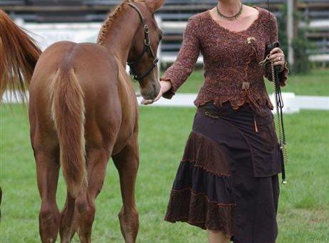 Portrait d'adhérent : Kirsten Blachetta, élevage de la Domerguie