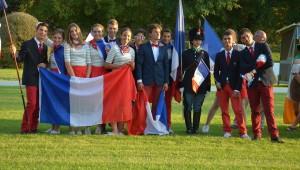 CH-EU Jeunes : la France 2ème du dressage !
