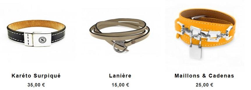 Bracelets Surpiqure