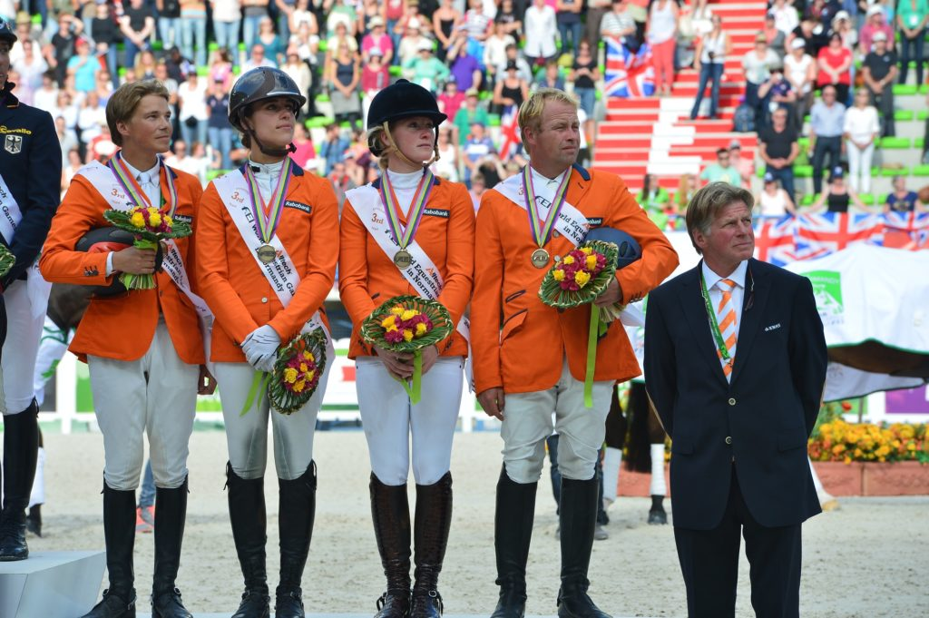 Bettina Hoy entraîne les Pays-Bas