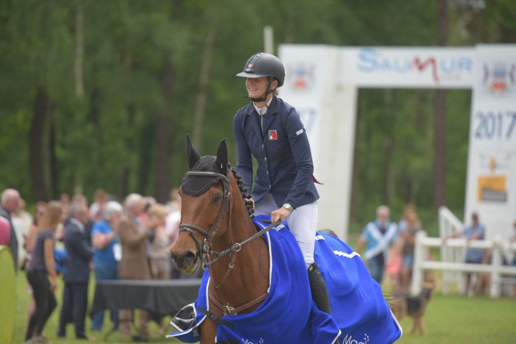 Saumur : Camille Guyot gagne le CCI1*!
