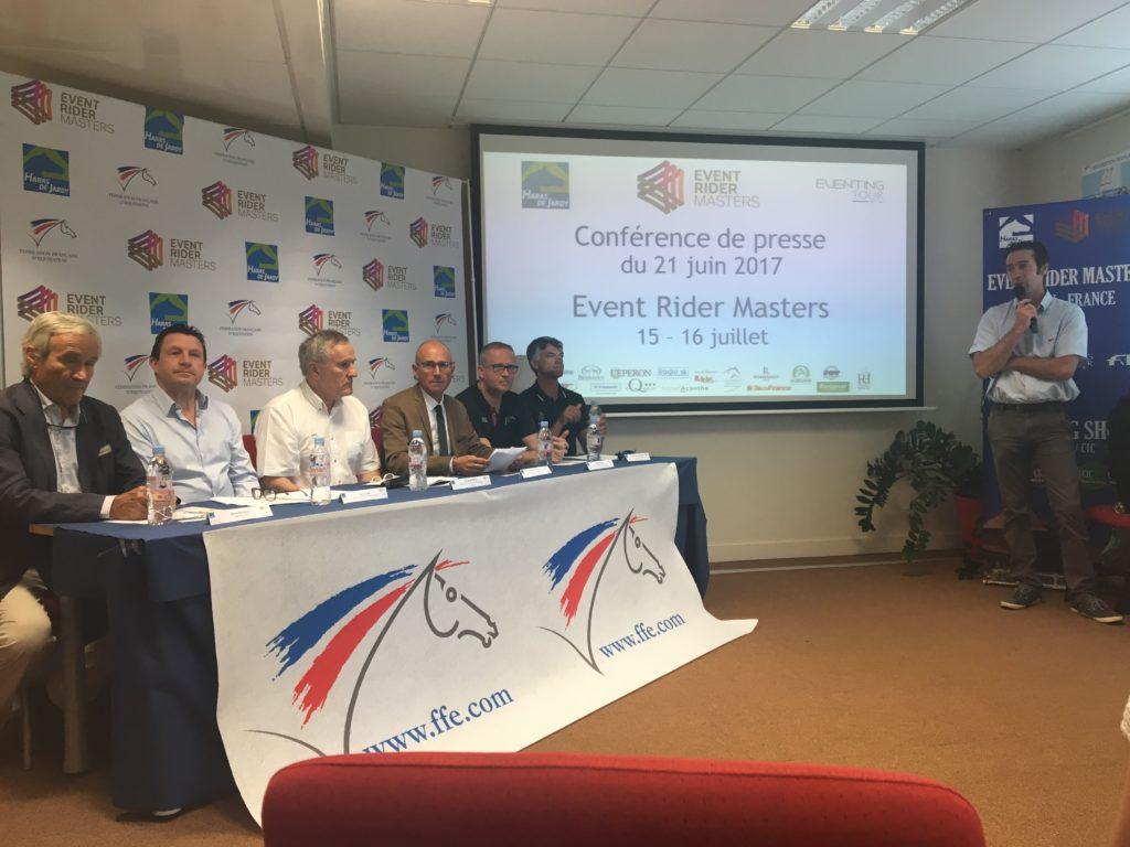 Event Rider Masters à Jardy : conférence de presse