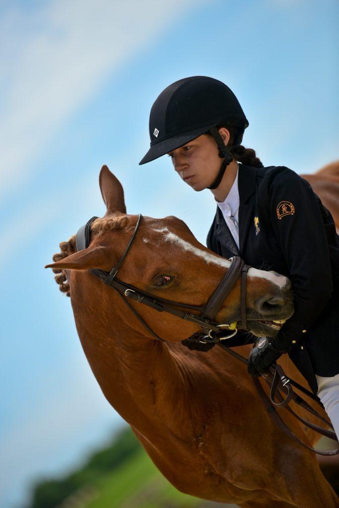 Portrait de Champions : Liloï Lourde Rocheblave et Voltair de Lalande