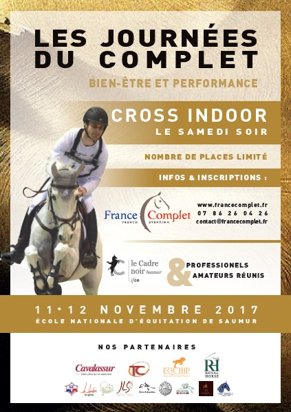 Journées / cross indoor : save the date !