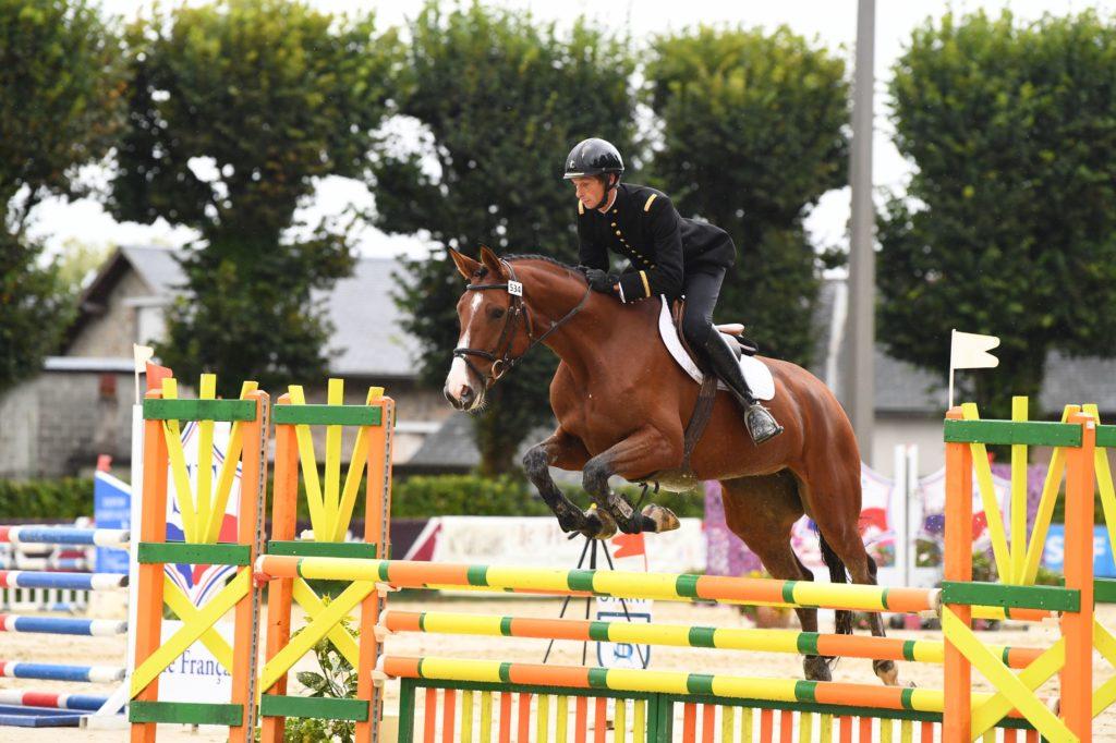 Vernoil réussit aux chevaux de l'IFCE