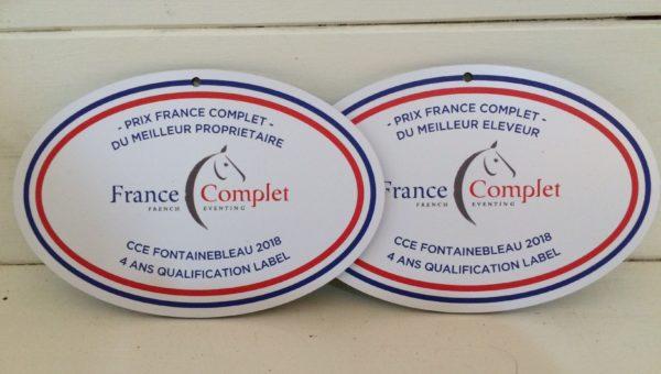 Jeunes chevaux de Saumur et Fontainebleau: France Complet récompense les éleveurs et les propriétaires.