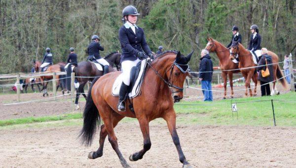 Laura Monod Cotte et Bolero de Tuilière se distinguent à Vernoil pour le Prix du meilleur 7 ans «amateur».