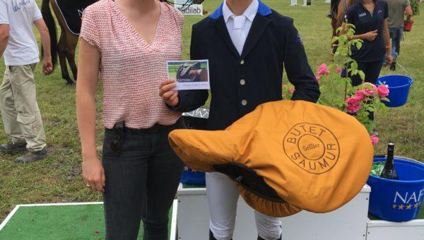 Saumur : Alban Moullière remporte le Challenge Butet des moins de 25 ans