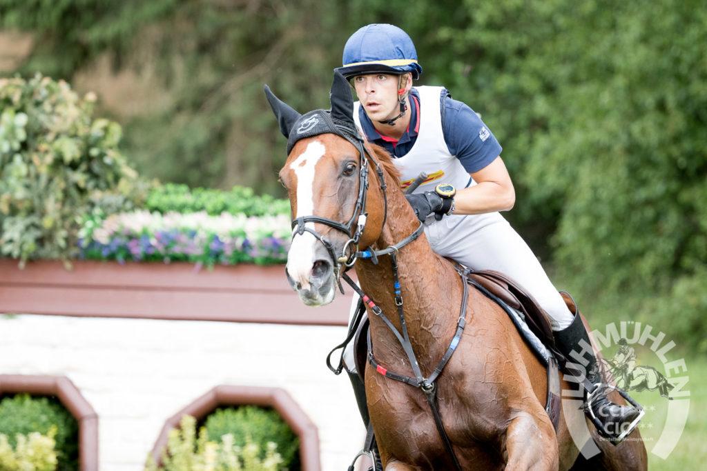 Les impressions de Camille Lejeune, meilleur cavalier français à Luhmühlen