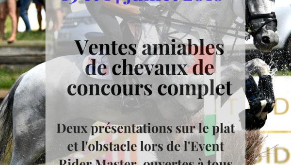 Lancement des ventes amiables France Complet les 13 et 14 juillet prochains.