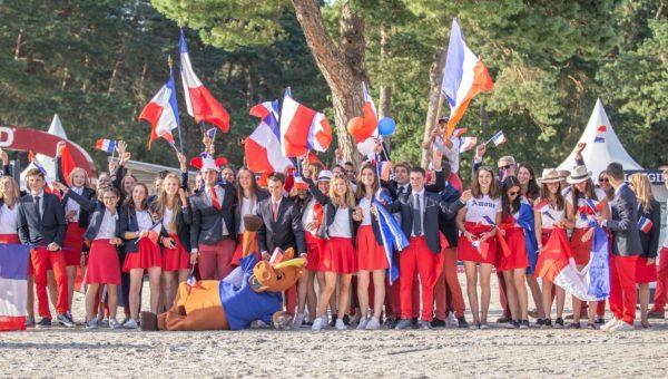 Fontainebleau lance ses championnats d'Europe Jeunes en grande pompe