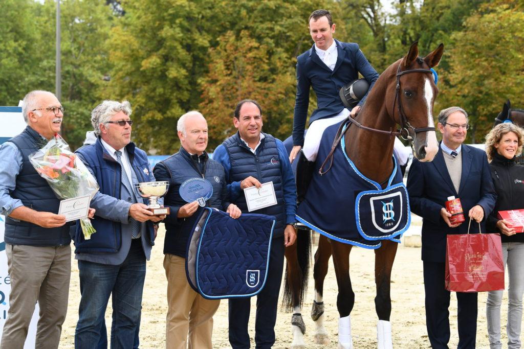 Darmagnac de Béliard Champion de France des 5 ans.
