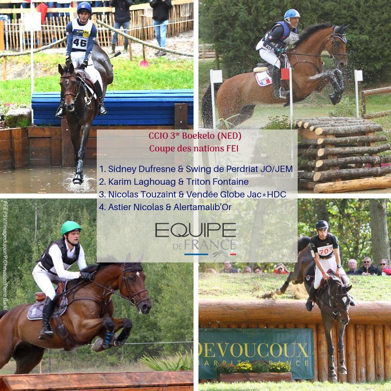 Boekelo J1 : Dressage et reco de cross